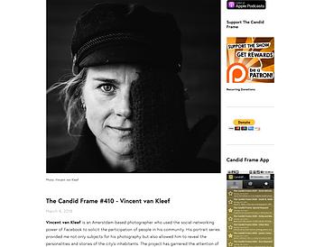 The Candid Frame Podcast Vincent van Kleef