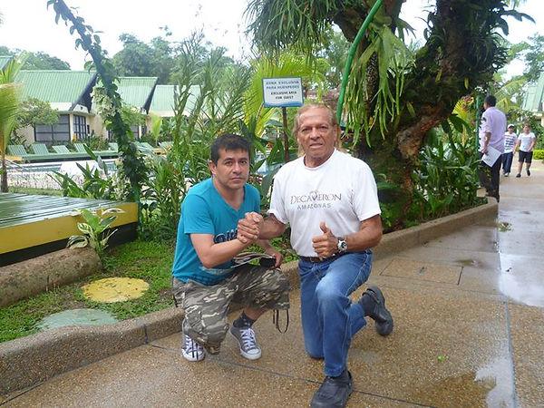 Con Kapax, El héroe salvaje, leyenda viv