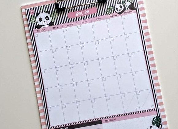 Calendário Permanente com Prancheta