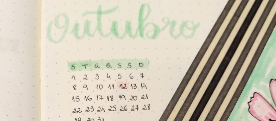 Planejando meu mês de outubro