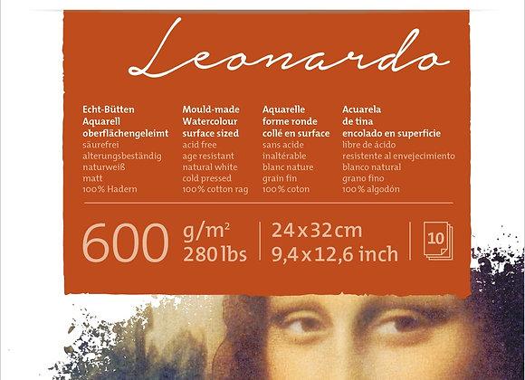 Leonardo - bloco 10 folhas
