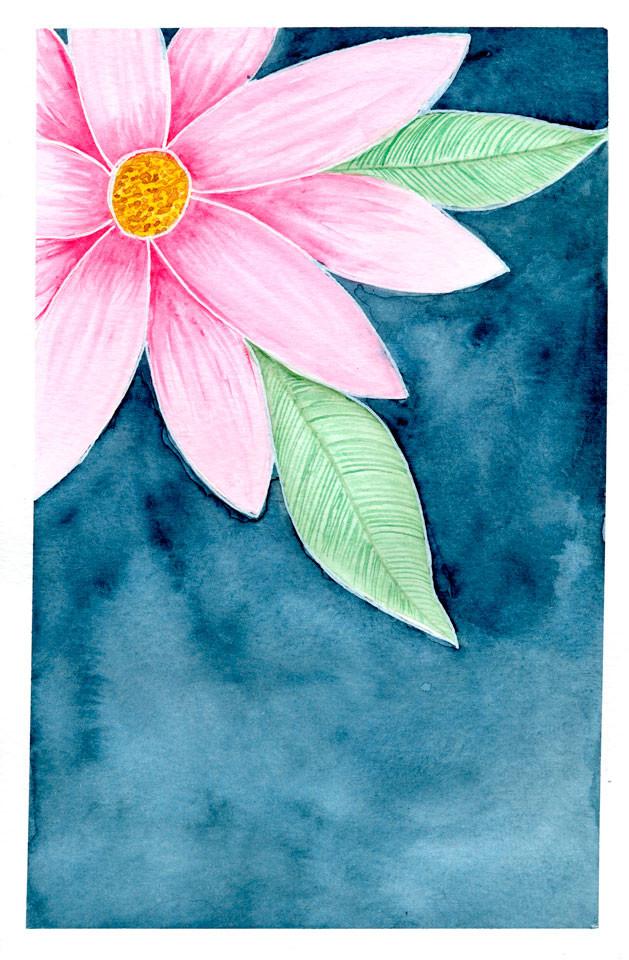 Flor ao Anoitecer