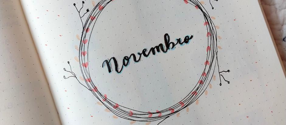 Planejando meu mês de novembro