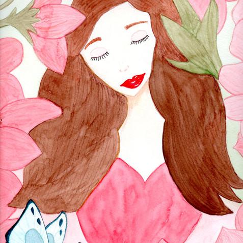 A Menina das Flores