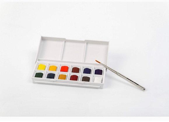 Estojo de aquarelas Cotman 12 cores