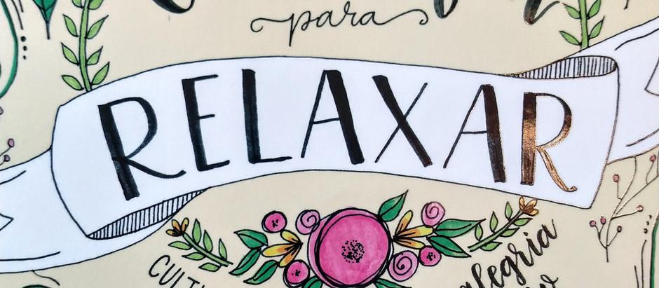 Caligrafia para relaxar #4