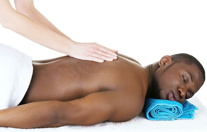Purchased small size Man on massage tabl