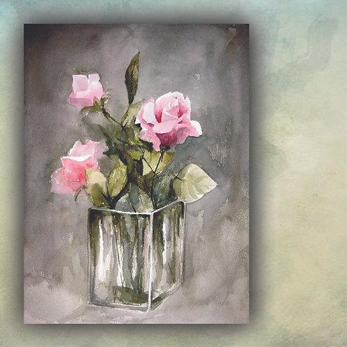 Roses in Vase PC