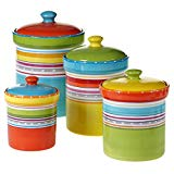 Brightly Colored Cannister Set