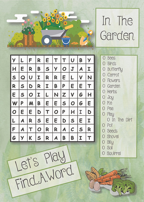 Let's Play Find.A.Word Garden