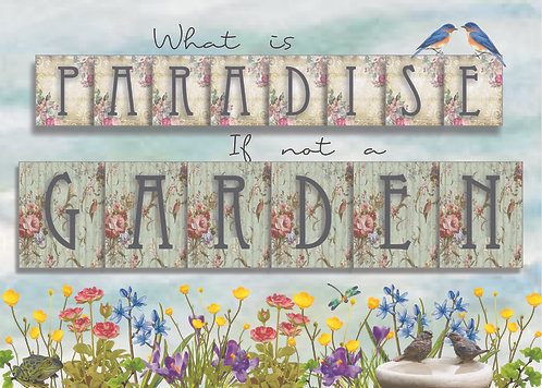 What Is Paradise (words only)