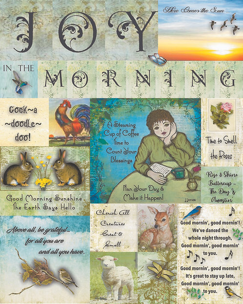 Joy in the Morning by Jan Jones (Print)