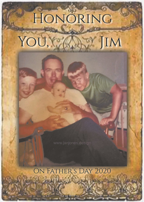 Custom Father's Day Card