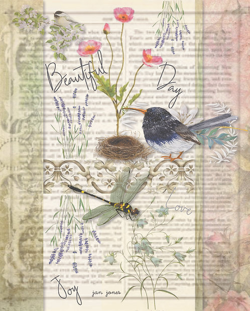 Beautiful Day by Jan Jones (Print)