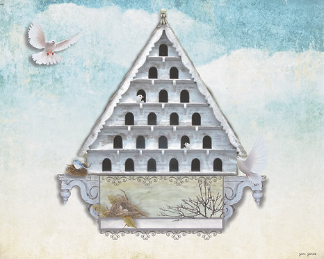 Dovecote by Jan Jones (Print)