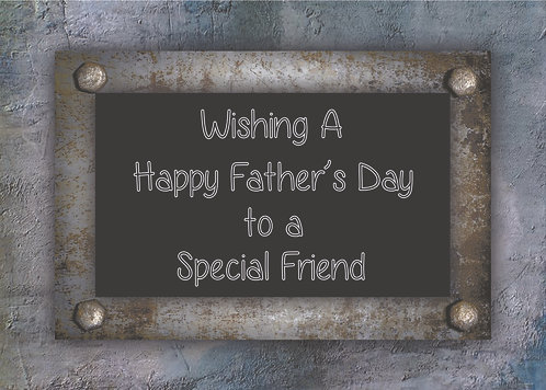 Wishing A Happy Father's Day