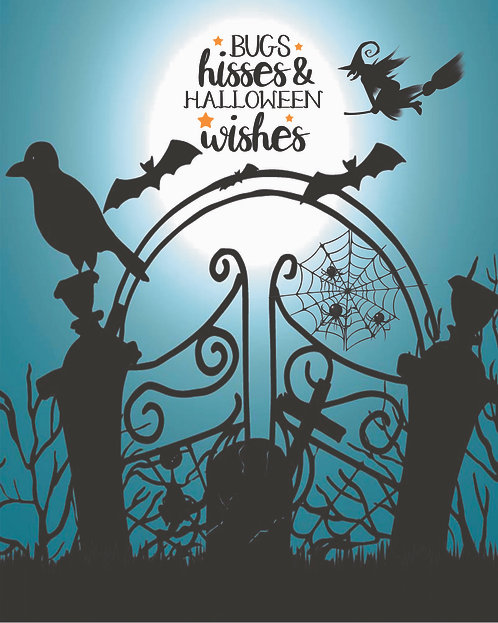 Bugs, Hisses & Halloween Wishes