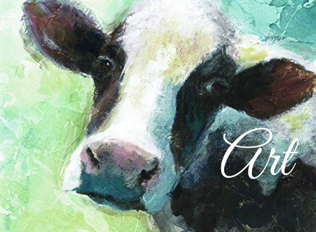What Is It With All Those Cow Paintings?