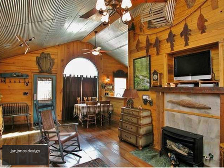 Themed Decorating: The Old Fish Camp
