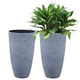 Set of 2 large pots