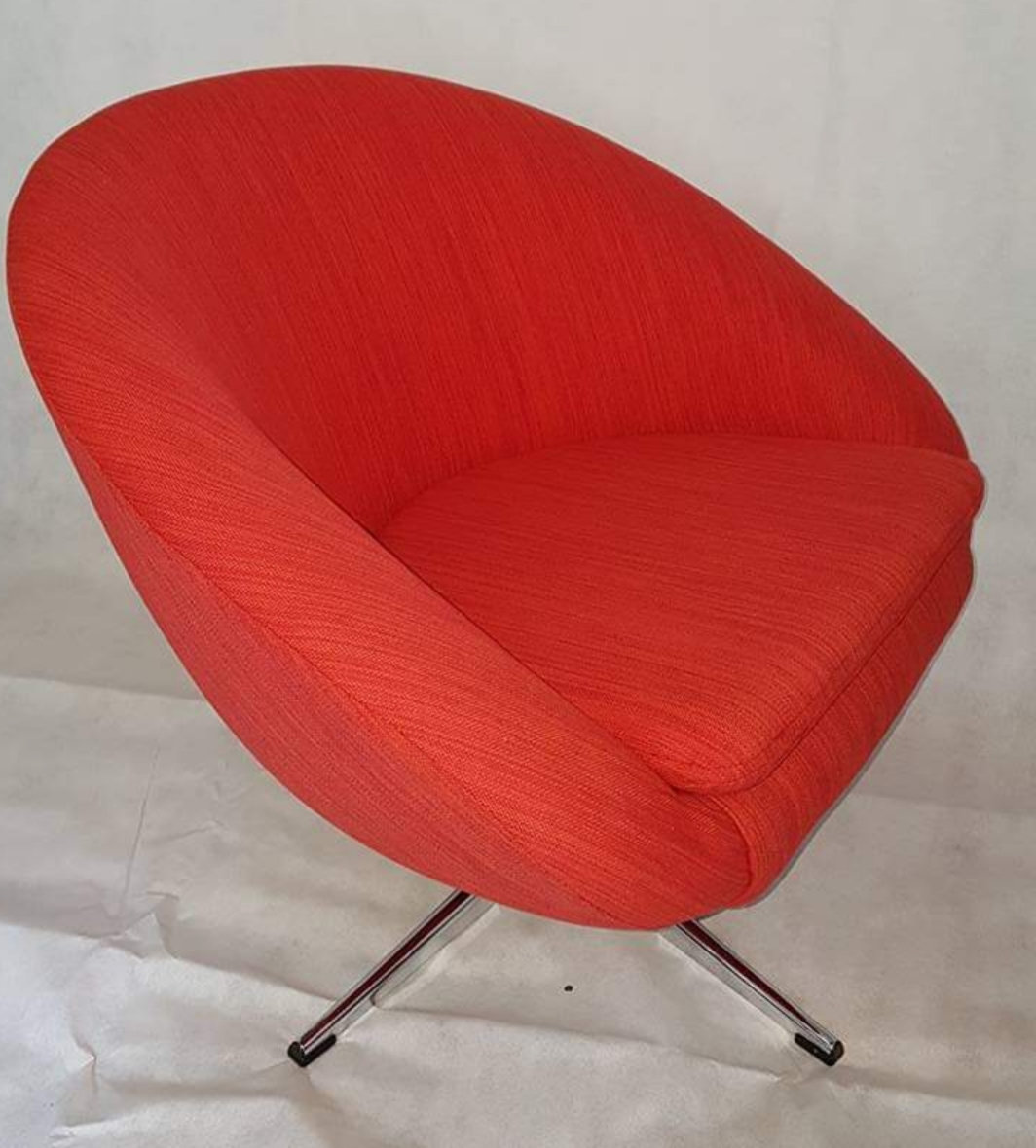 Swell 1960S Retro Swivel Chair Squirreltailoven Fun Painted Chair Ideas Images Squirreltailovenorg