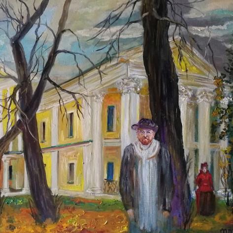 Савва Морозов в усадьбе