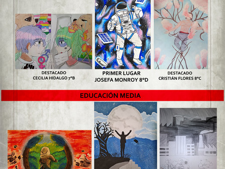 Ganadores del certamen de Artes Visuales en artes 2021