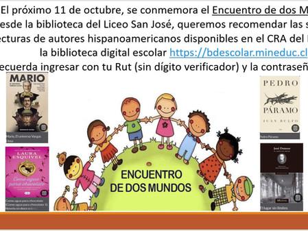 Noticia de la Biblioteca Cra en Octubre