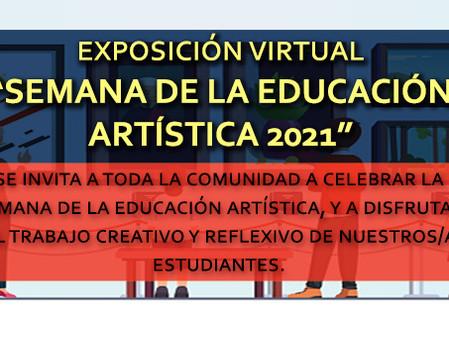 """""""Semana de la educación artística"""" EXPOSICIÓN VIRTUAL Y VIDEO DE EDUCACIÓN MUSICAL."""