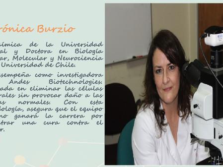 Mujeres destacadas en el área científica y artística.