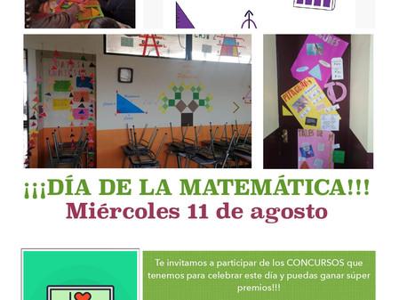 Invitación  a participar en el día de las matemáticas