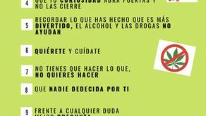 Efemérides; Día Nacional de la Prevención del consumo de drogas.