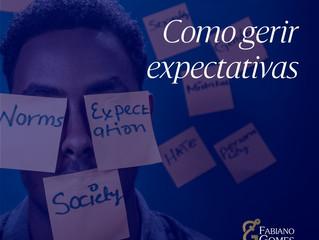 Como gerir expectativas
