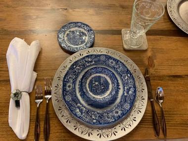 table setting vt wedding barn westfield_