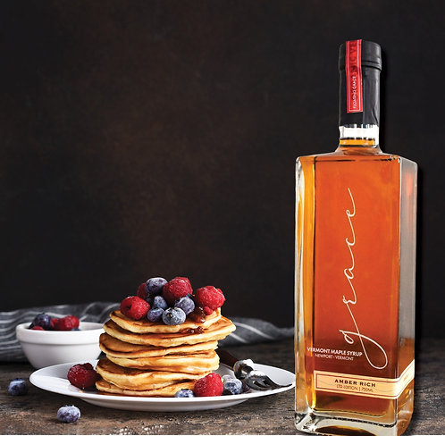 100% PURE VERMONT MAPLE SYRUP 25.3 OZ