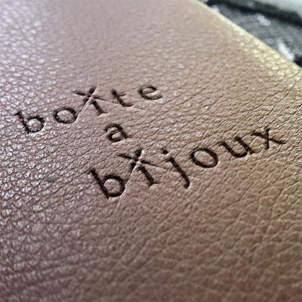 © PAL「boite a bijouxロゴ」
