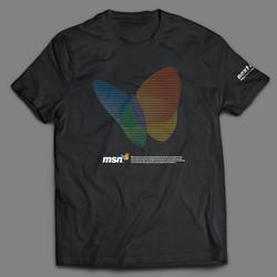 © ユニクロ「msn企業コラボT-Shirt」