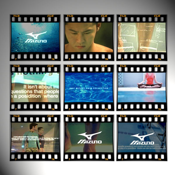 ©MIZUNO「2007 MIZUNO SWIM COLLECTION」