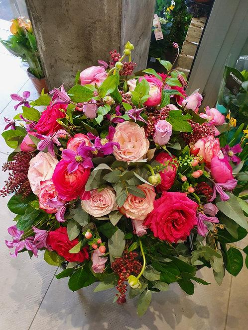 """Bouquet """"Rose de jardin"""""""