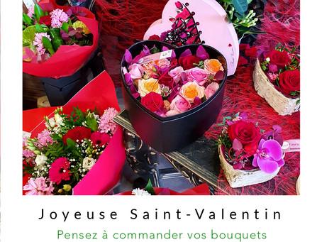 La Saint-Valentin approche à grands pas !