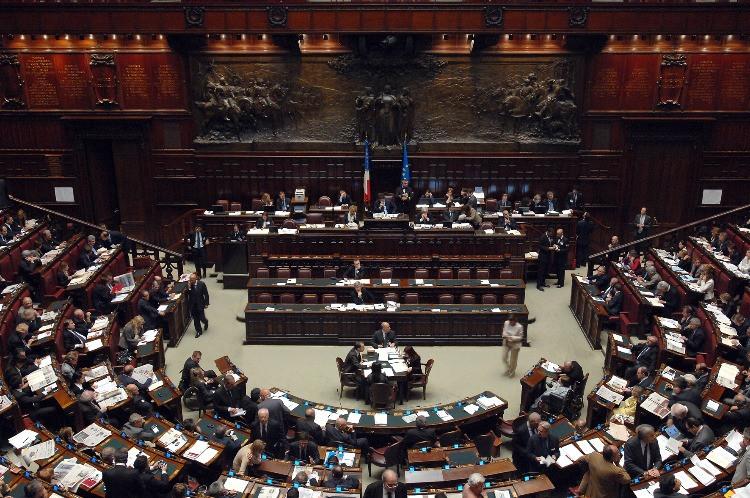 Aula della Camera dei Deputati durante i lavori