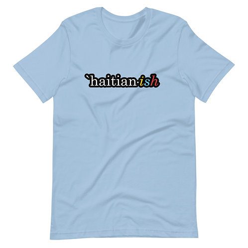 `Haitian-ish: light blue unisex