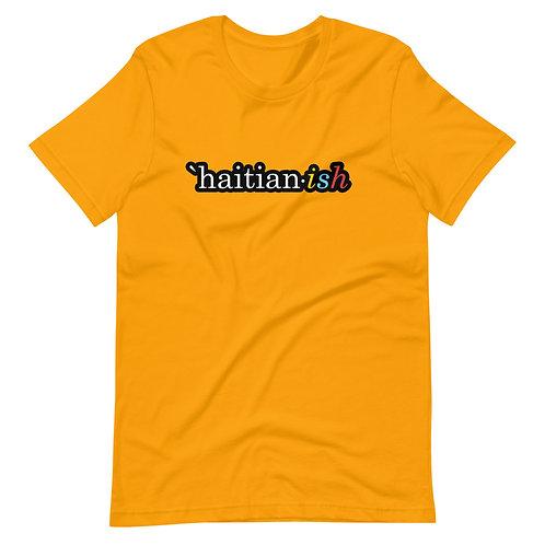 `Haitian-ish: yellow unisex