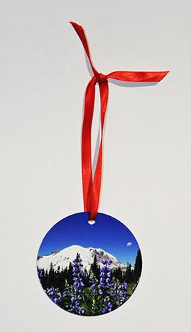 mt ranier ornament