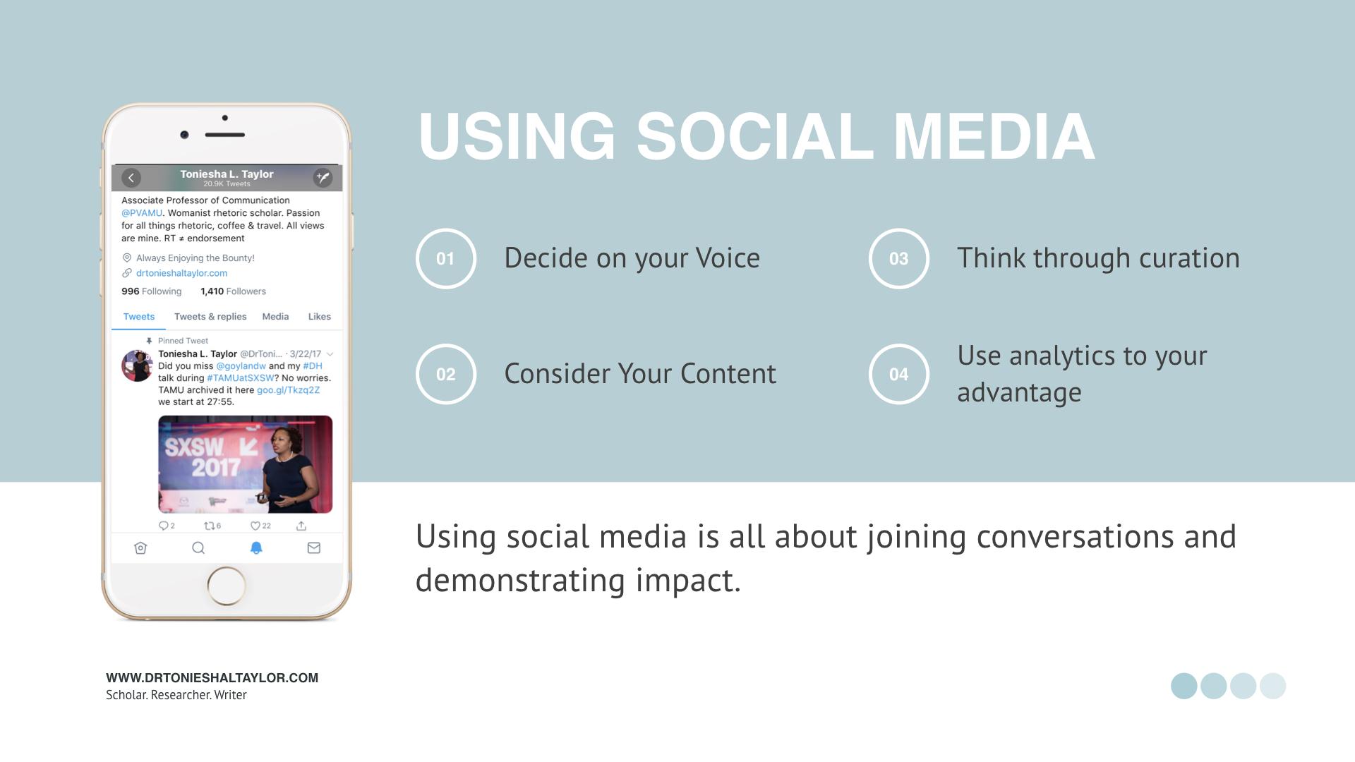 Social Media Analytics and the PI.005