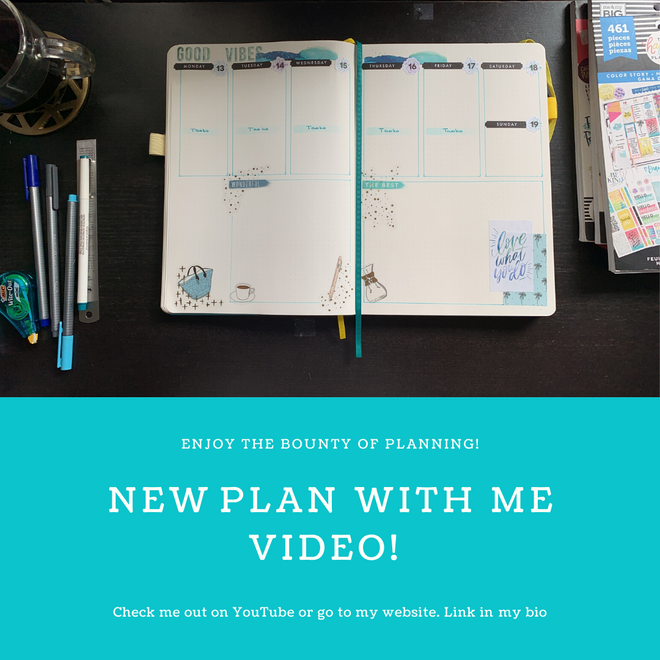 Plan With Me for April 13, 2020 #BulletJournal
