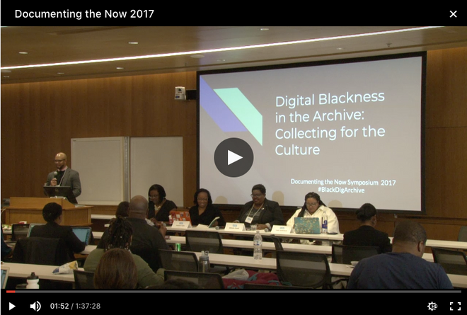 Digital Blackness in the Archive: Collecting for the Culture