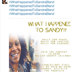 Early Reaction to the News of #SandraBland