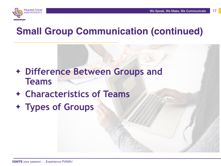 We Speak, We Make, We Communicate .017