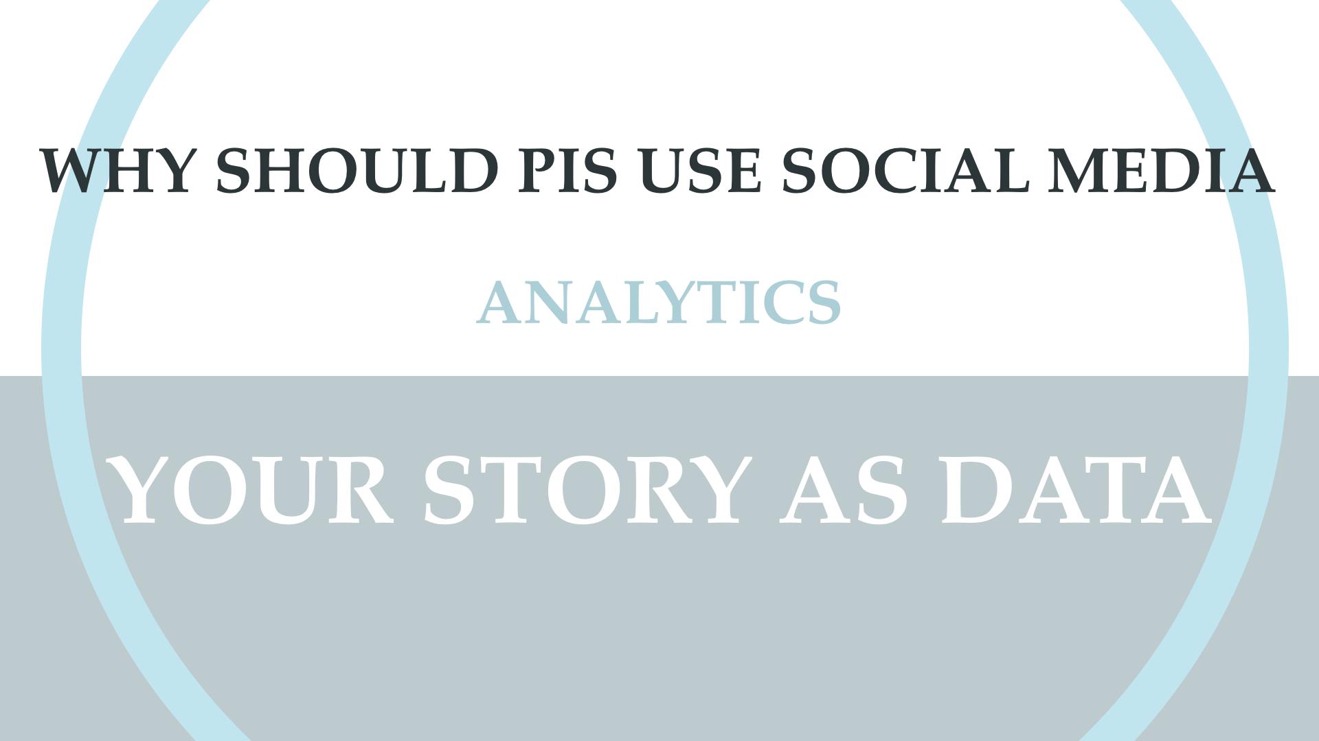 Social Media Analytics and the PI.009